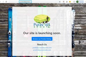 PuraVidaSportz.in coming soon